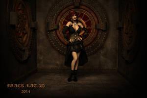SteamPunk..Beth by black-Kat-3D-studio