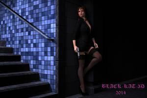 Subway Stalker by black-Kat-3D-studio