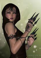 Necromancer by black-Kat-3D-studio