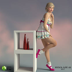 Cherry by black-Kat-3D-studio