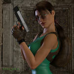 Portrait:  Lara Croft