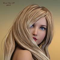 Portrait:  Aiko 8 by black-Kat-3D-studio