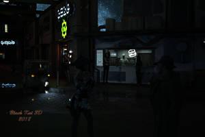Cybercity: Backstreet by black-Kat-3D-studio