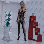 She Loves Leather by black-Kat-3D-studio