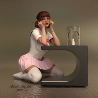 Tiffany by black-Kat-3D-studio