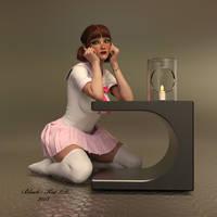 Tiffany by black-Kat-3D-studio