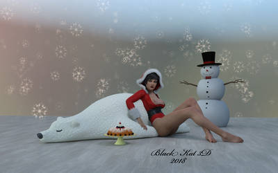 Happy Holidays by black-Kat-3D-studio