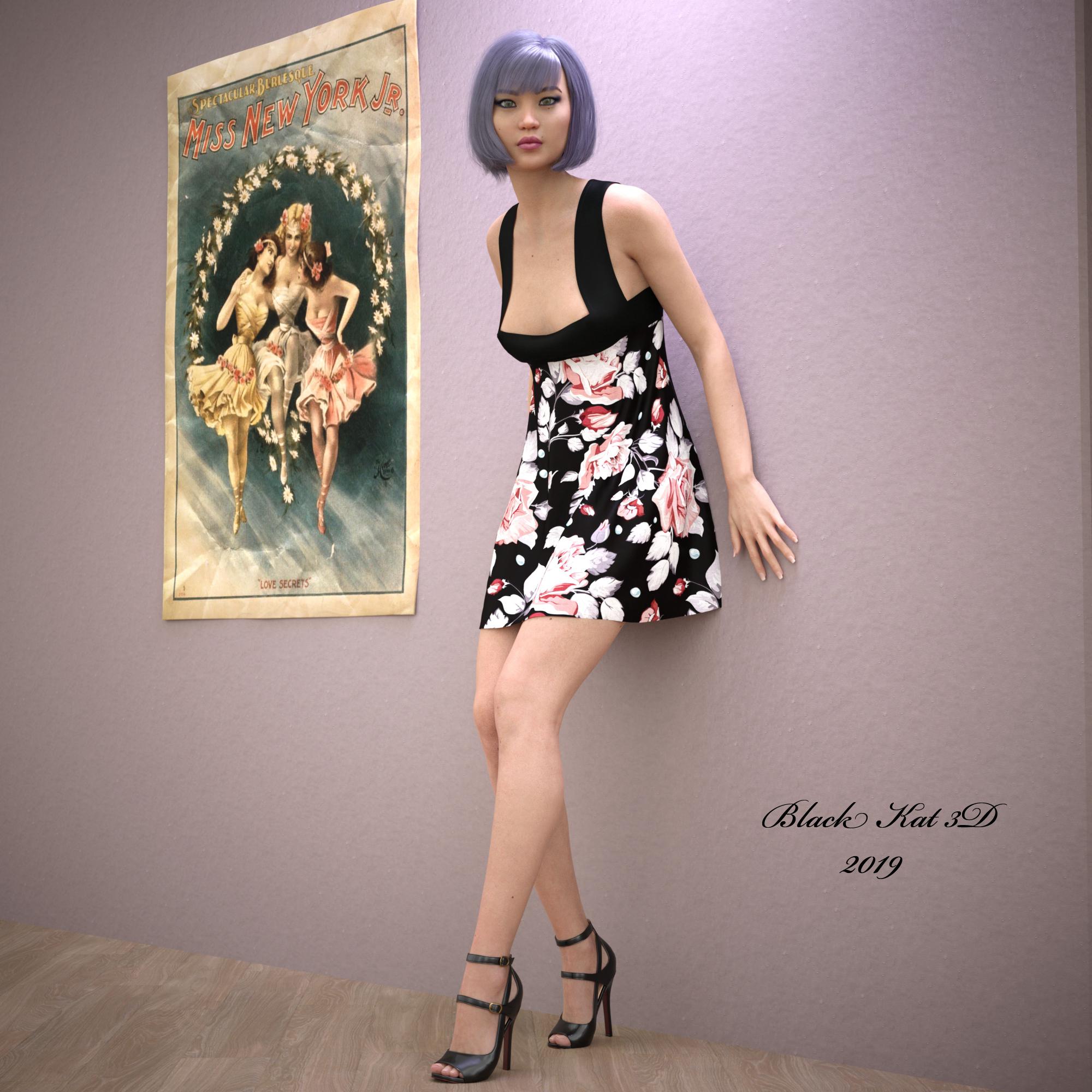 Emiyo by black-Kat-3D-studio