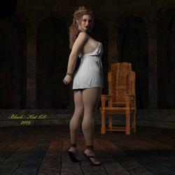 Teela: Still Captive by black-Kat-3D-studio