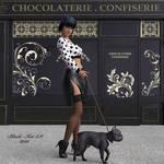 La Parisienne by black-Kat-3D-studio