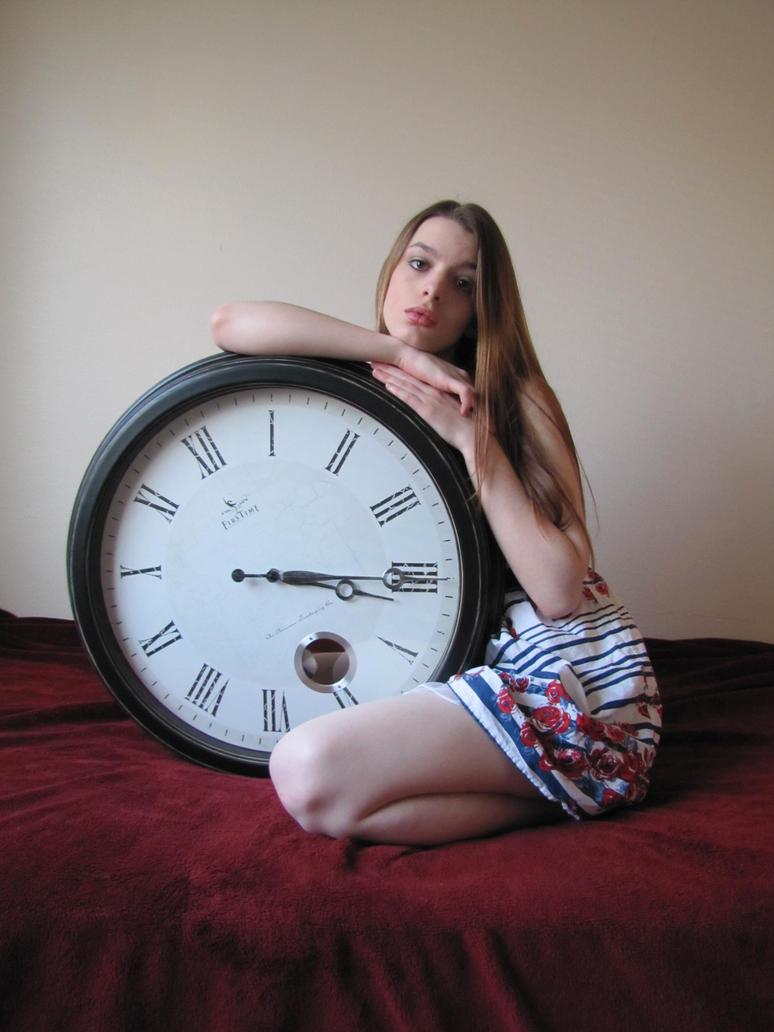 GirlWithClock.Stock02 by Jessica-Lorraine-Z