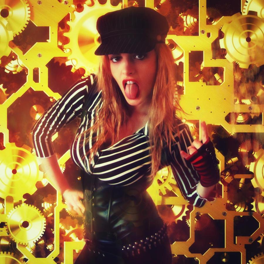 Punk Clockwork Girl by Reilune