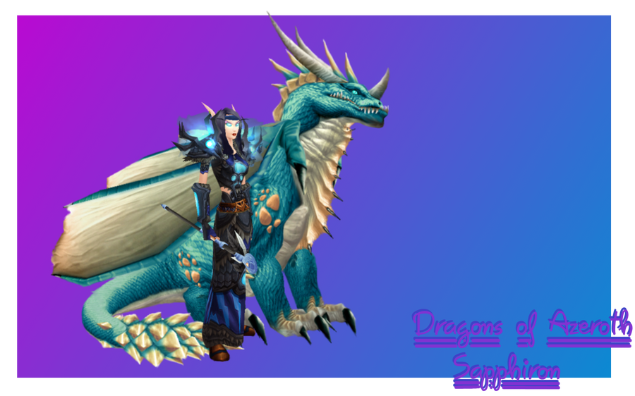 or the original frost wyrm skin like you see in battle for mount hyjal and sapphiron in naxx