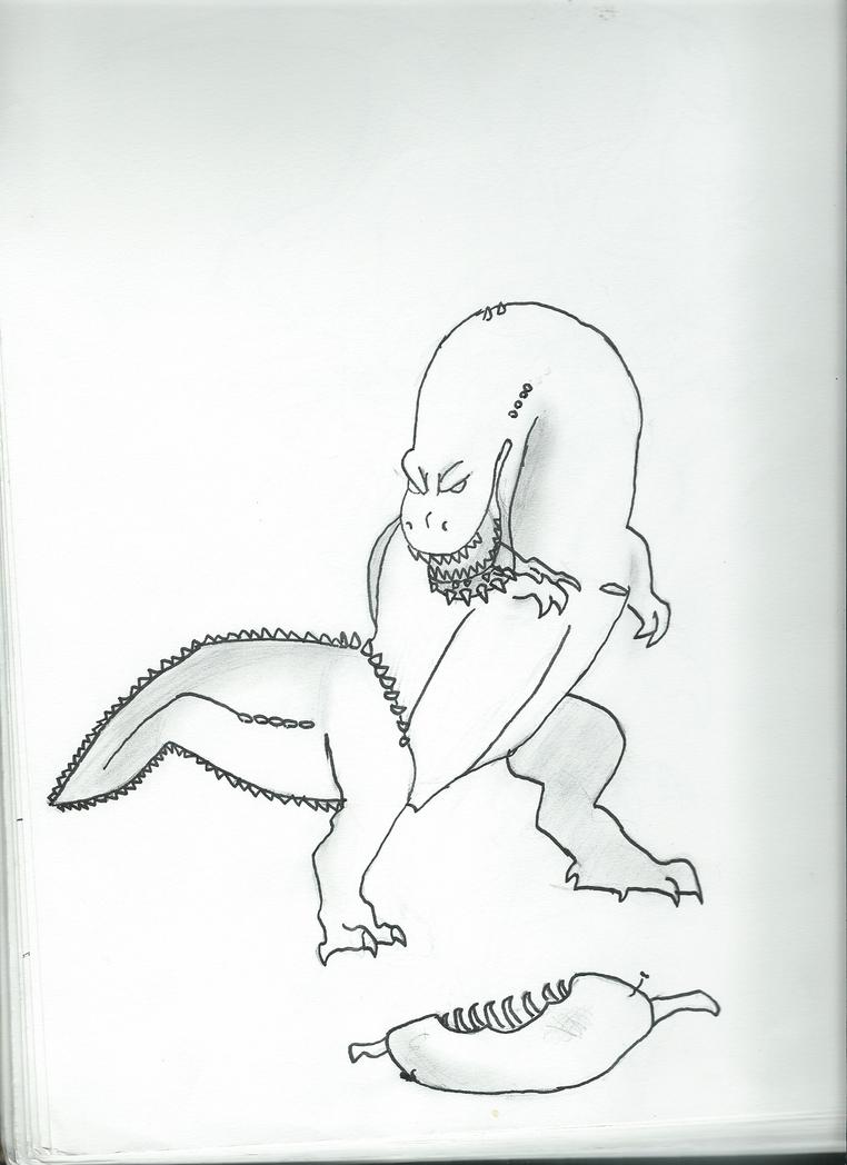 Deviljho by Riku8406