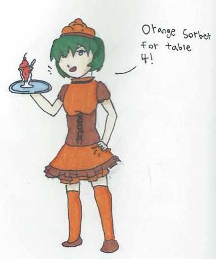 Orange Sorbet by Riku8406
