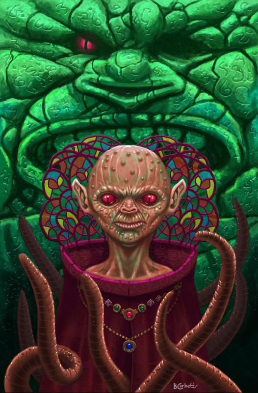 Alien Eight by BillCorbett