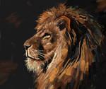 Lion sketch by BillCorbett