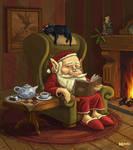 A cosy little christmas by BillCorbett