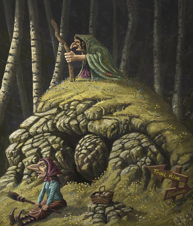 Troll Rise by BillCorbett