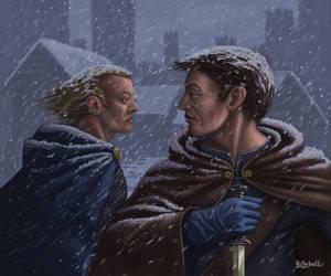 Ghost of Winterfell by BillCorbett