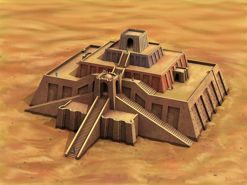 Ziggurat The Ziggurat of Ur by