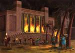 Persepolis Burns by BillCorbett
