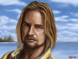 Sawyer - Josh Holloway by BillCorbett
