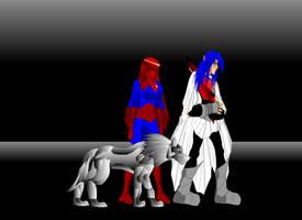 Eclipso, Zala, and Silva by spikerman87