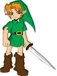 Young Link Majora's Mask