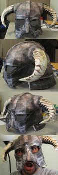 Skyrim Iron Helmet Papercraft by spikerman87