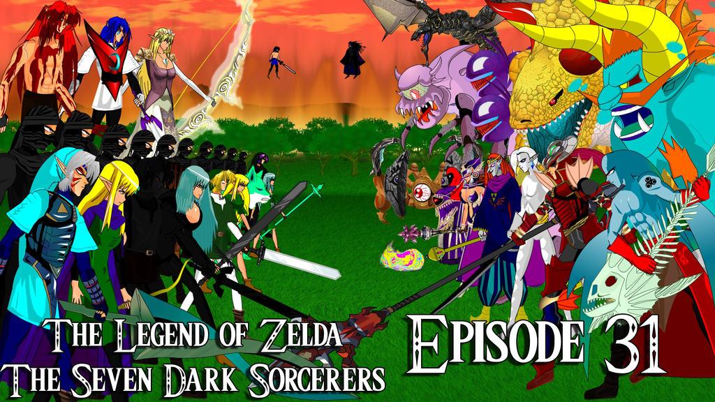 Zelda Seven Dark Sorcerers Episode 31 by spikerman87