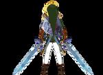 Link Dual Wielding Swords