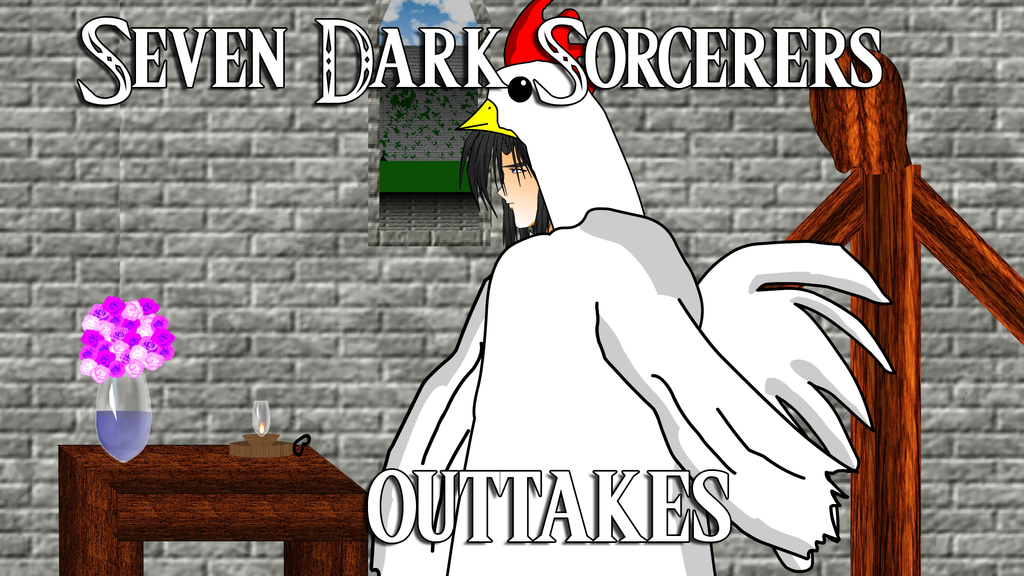 Seven Dark Sorcerers Outtakes 30 and 33 by spikerman87