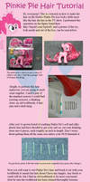 Pinkie Pie Hair Tutorial by countschlick