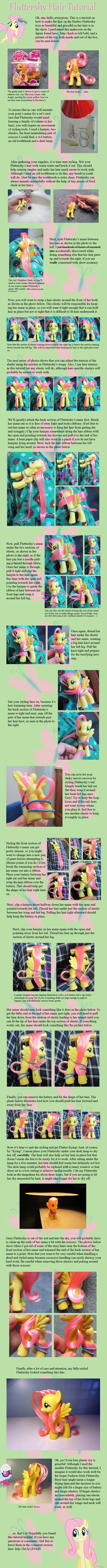 Fluttershy Hair Tutorial