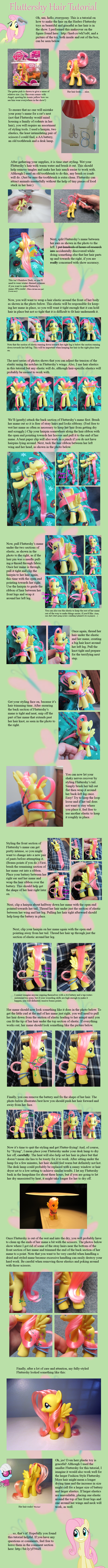 Fluttershy Hair Tutorial by countschlick