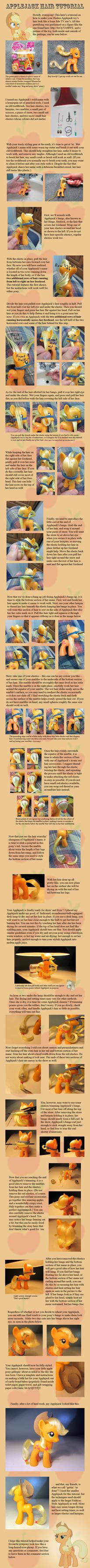 Applejack Hair Tutorial by countschlick