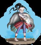 Tara, the  halfling sorcerer