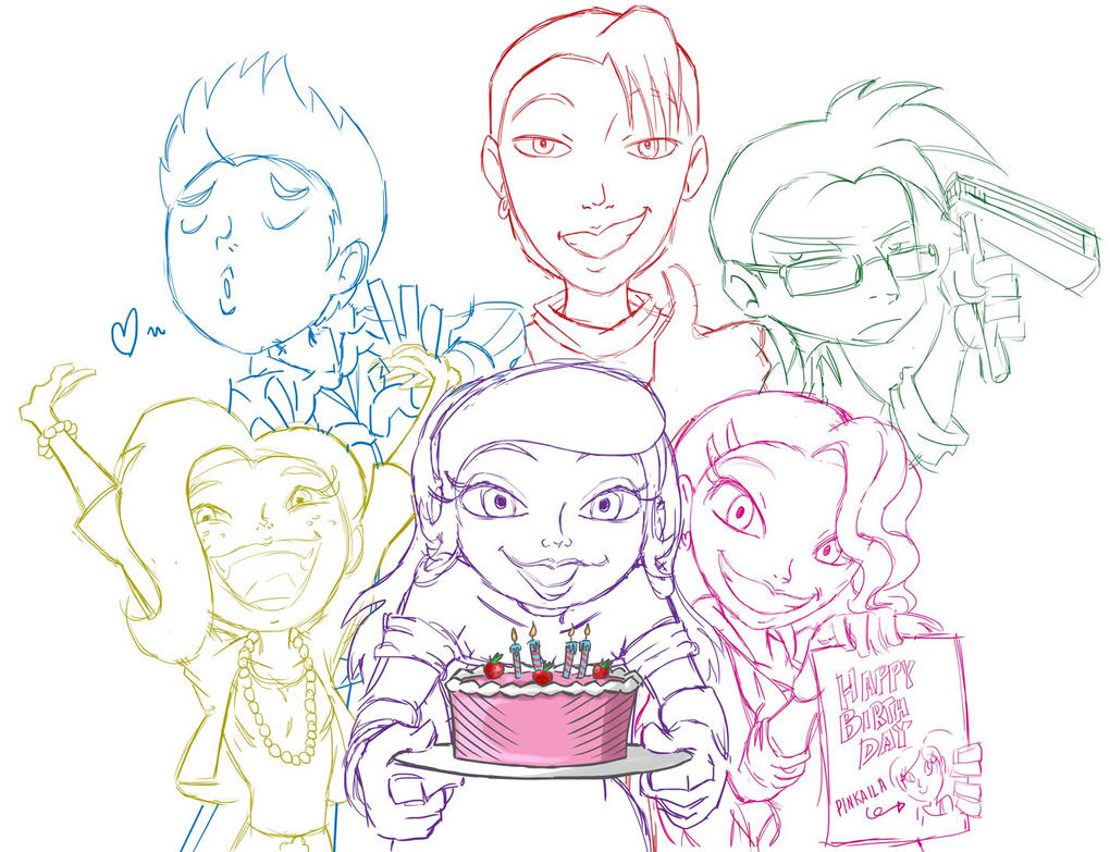 Birthday Doodle By Chano Kun On DeviantArt