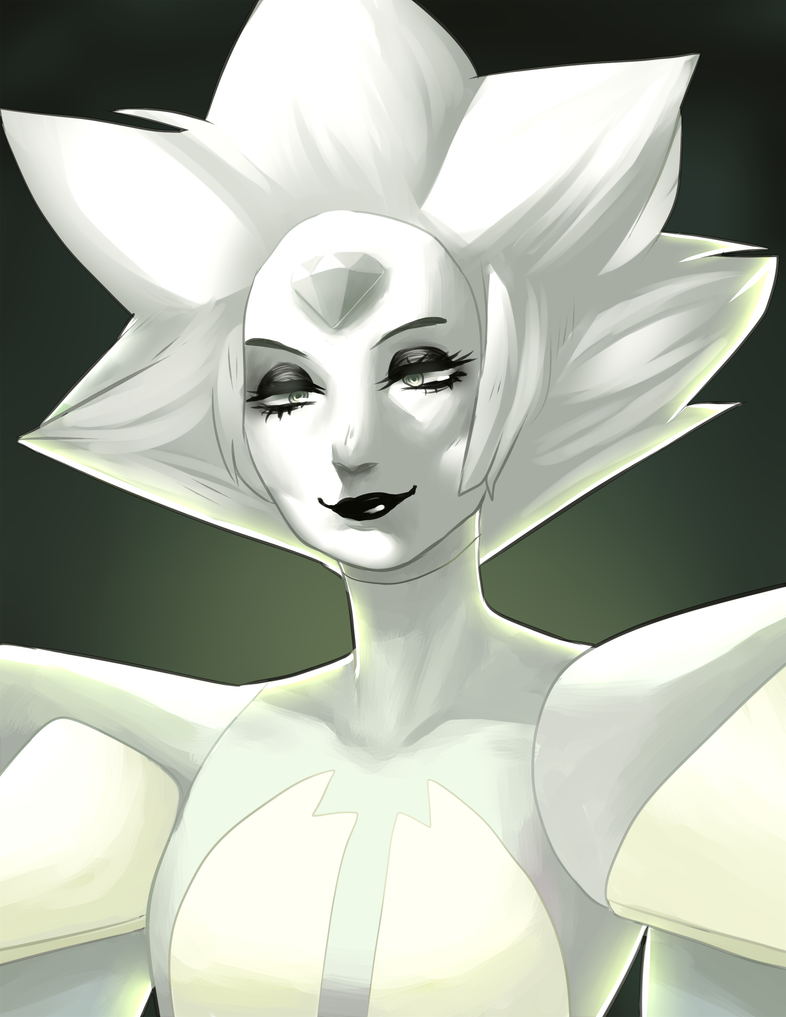 i havent seen any clips yet but white diamond is GORGEOUS AND I LOVE HERRRR I'VE BEEN STANNING SINCE DAY 1