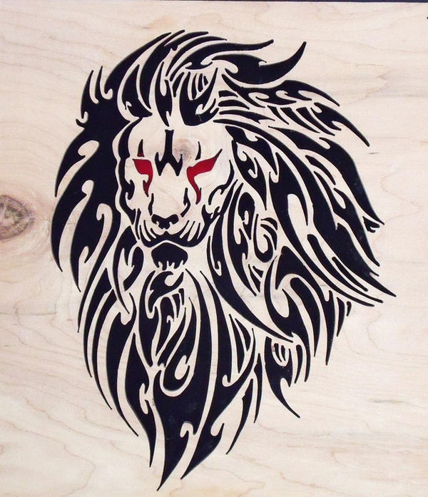 15 Magnificent Leo Tribal Tattoos: Tribal Lion By Liskie3100 On DeviantArt