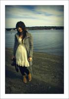 kaytee on beach by duhitsmia