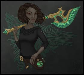 [Commission] Nissa by Emma-Warren