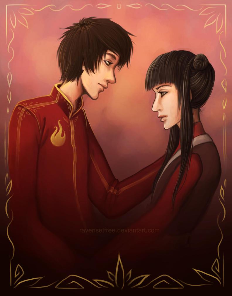 Zuko and Mai by daniellesylvan on DeviantArt