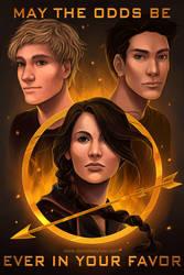 The Hunger Games by daniellesylvan
