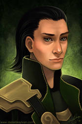 Loki by daniellesylvan