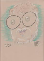 Filmmaker Portrait 2019 #8 Guillermo Del Toro by MistahPete