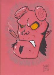 Happy Birthday, Hellboy! by MistahPete