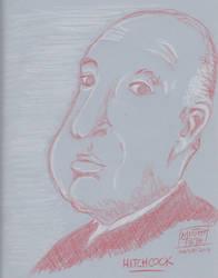 Filmmaker Portrait 2019 #13 Alfred Hitchcock by MistahPete