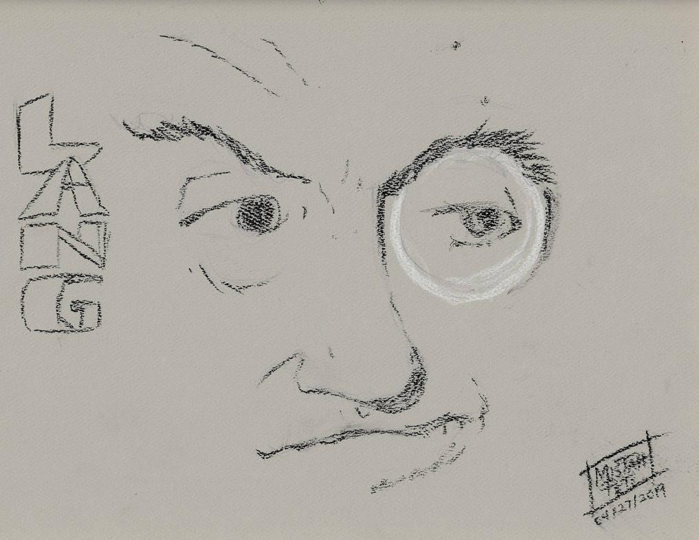 Filmmaker Portrait 2019 #17 Fritz Lang by MistahPete